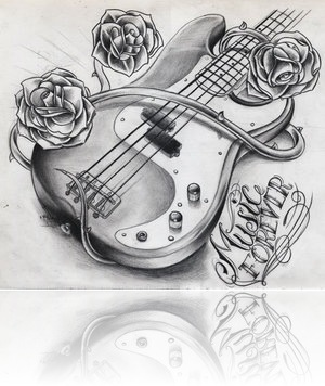 Music_Forever_Bass_Guitar_by_WillemXSM