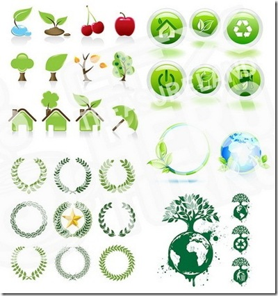 SS Green Vector Icons [ 19 EPS ]_thumb[3]