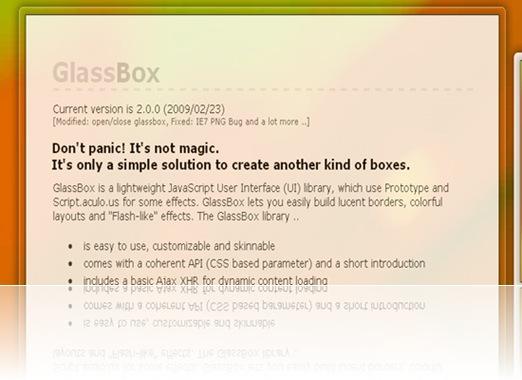 GlassBox-is-a-lightweight-J