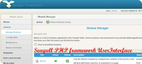 Seagull-php-framework