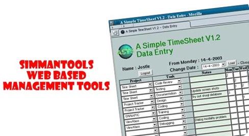 SimManTools - Web based management tools