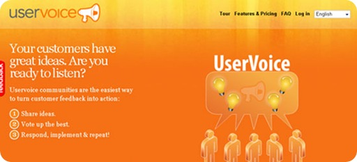 uservoice - The easiest way to turn customer feedback into action
