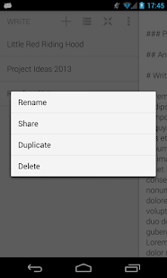 Write in the Cloud- screenshot thumbnail