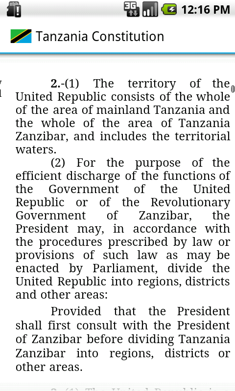 constitution of tanzania 3 the constitution of the united republic of tanzania (cap 2) arrangement of contents article title preamble chapter one the united republic, political parties.