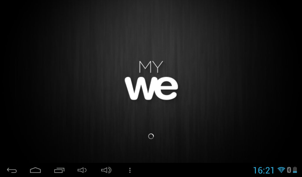 MyWe- screenshot