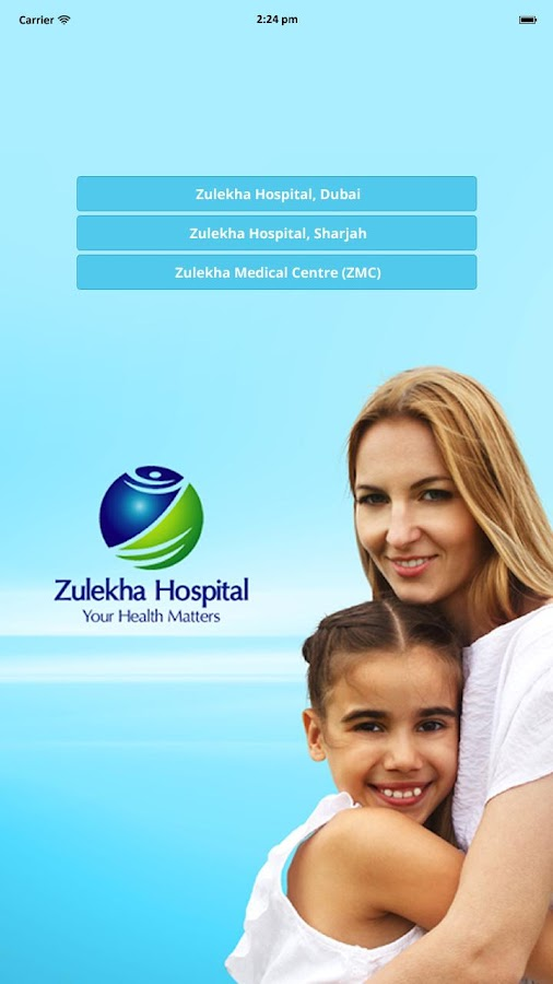 Zulekha Hospitals- screenshot