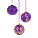 Christmas Ornament Purple icon