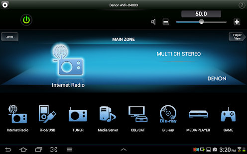 Denon Remote App- screenshot thumbnail