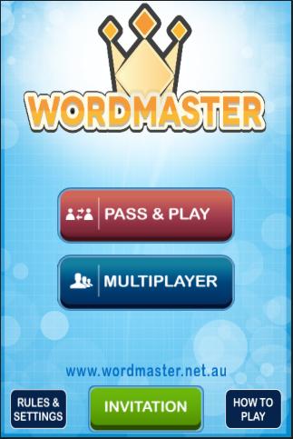 WORDMASTER Trial Game