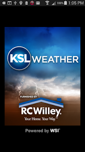KSL Weather - forecast aviation alert widget app