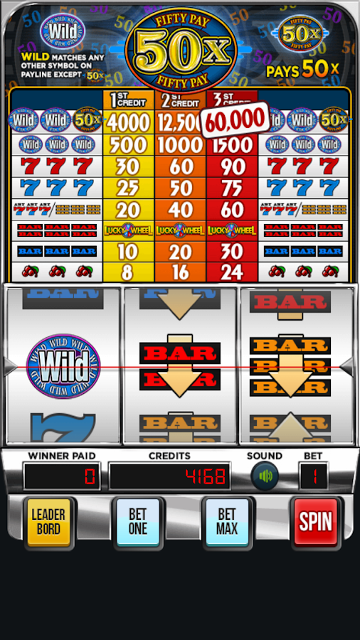 Super Fifty Pay Slots: Vegas Slot Machines Games- screenshot