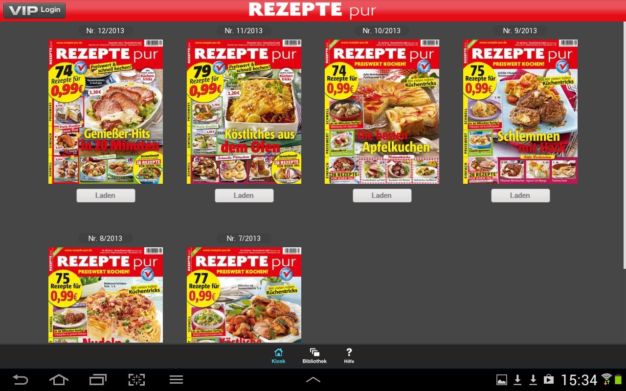 Rezepte Pur De rezepte pur epaper android apps on play