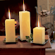 Ivory Candles Live Wallpaper