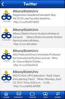 Screenshot of Albany State University
