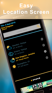 Weather Rise Clock 30+ Widgets screenshot 3