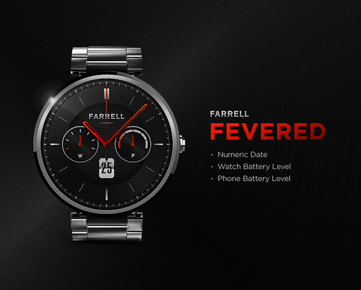 Fevered watchface by Farrell