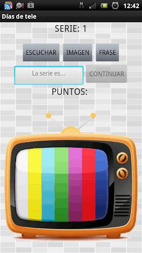 Días de tele