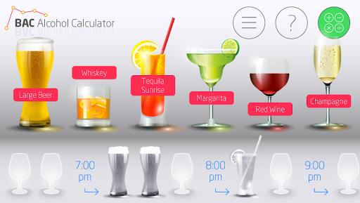 BAC Alcohol Calculator
