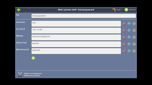 Lockable Data Store 1.2.2 screenshots 3