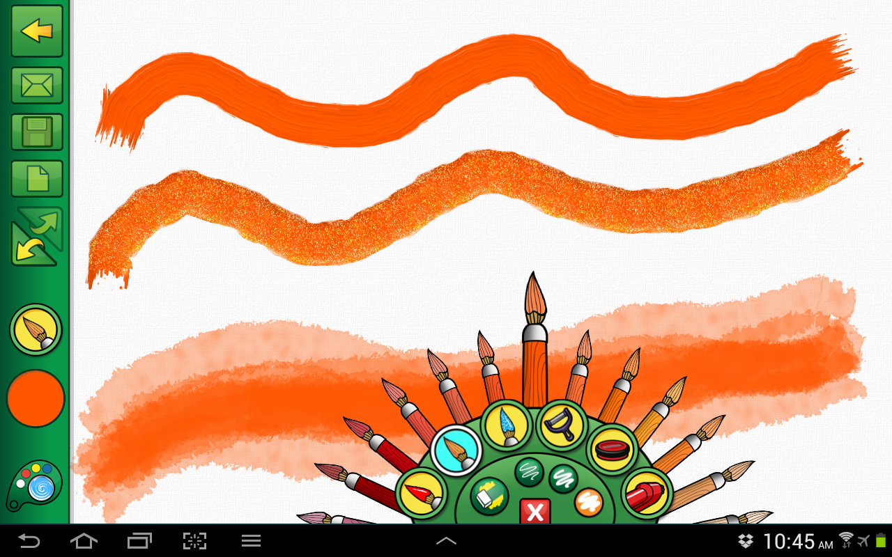 Crayola DigiTools Paint- screenshot
