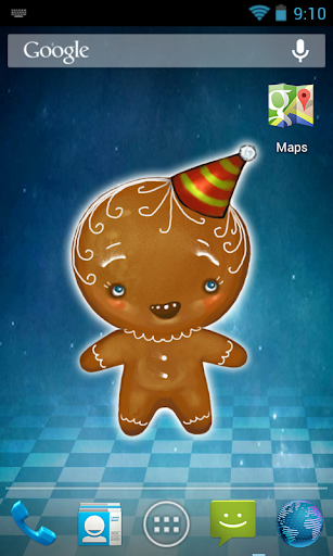 Cookie Free Live Wallpaper