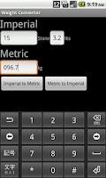 Screenshot of Weight Converter