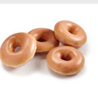 Krispy Kreme Bread Pudding.