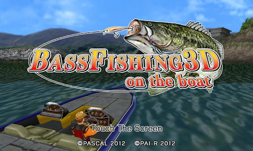 [ANDROID] Bass Fishing 3D on the Boat v1.0.1 .apk - ENG