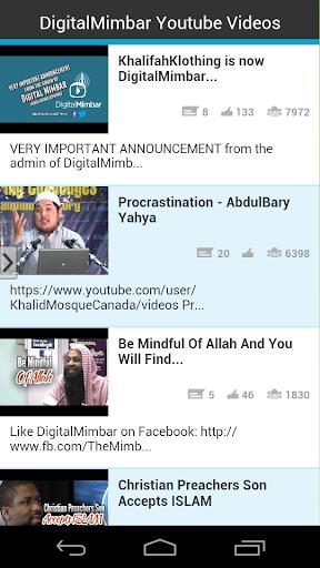 DigitalMimbar Youtube Videos