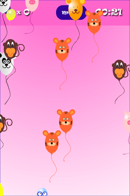 Balloon POP Games for toddlers - screenshot