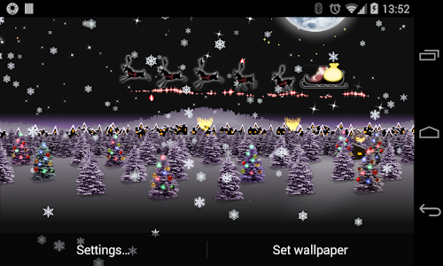 Christmas Live Wallpaper HD v3.1.0 (Patched)