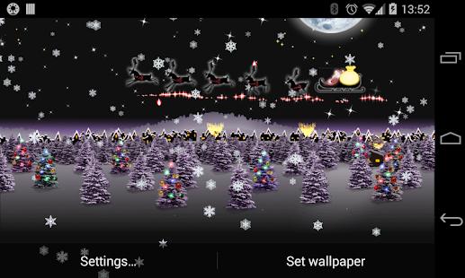 Vánoce Live Wallpaper HD - náhled