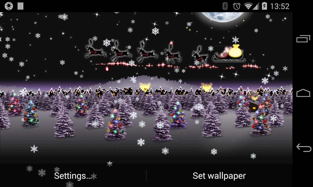 weihnachten live wallpaper hd android apps auf google play. Black Bedroom Furniture Sets. Home Design Ideas