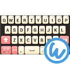 Peach keyboard image icon