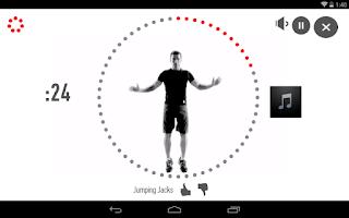 Screenshot of Johnson & Johnson 7 Minute