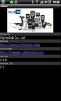 Screenshot of CipherConnect Pro
