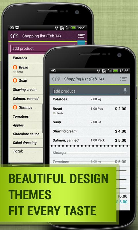Grocery Shopping List: Listick- screenshot
