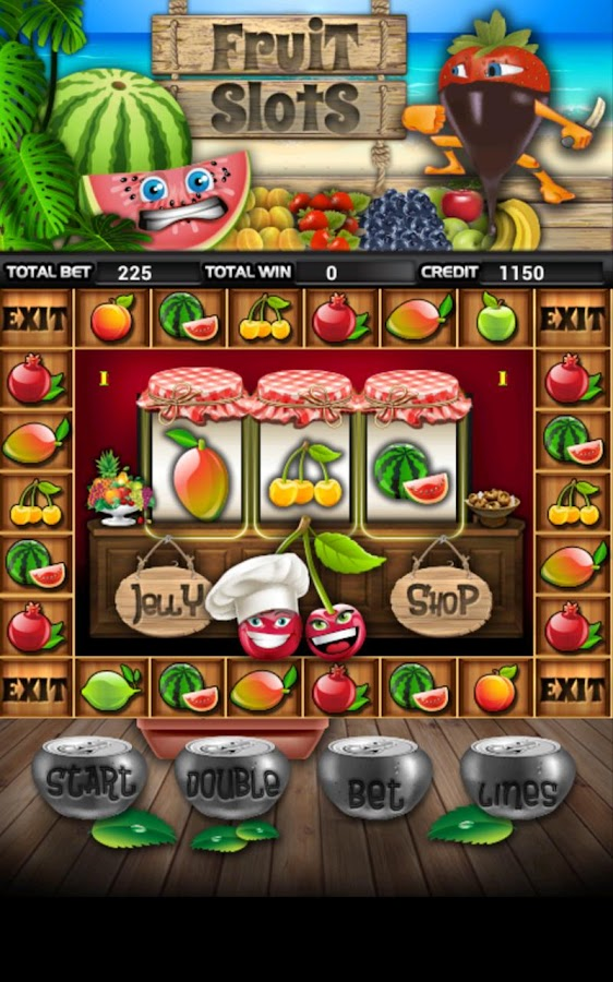 Fruit Cocktail Slot Machine HD- screenshot
