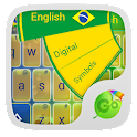 Football Brazil Keyboard Theme icon