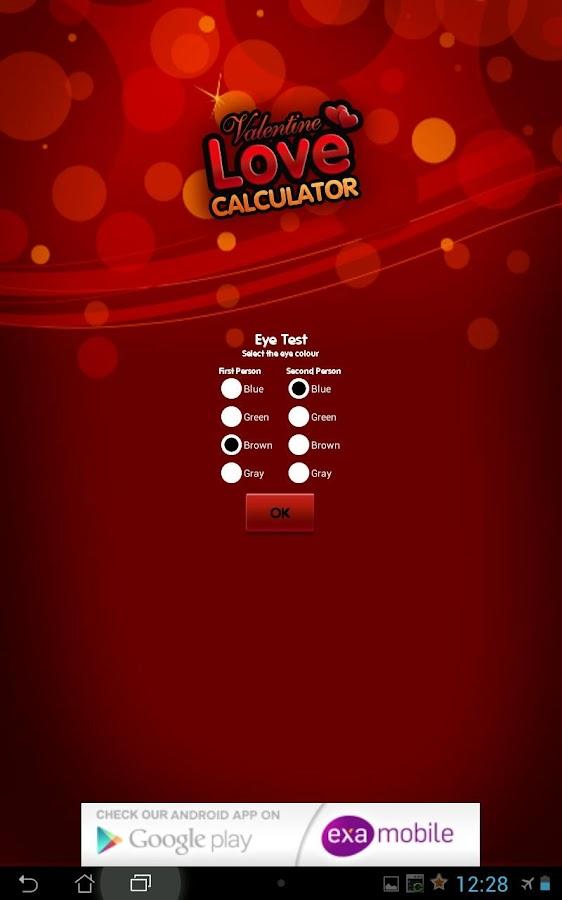 Love Calculator App