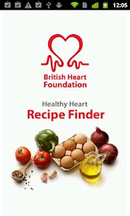 BHF Healthy Recipe Finder - screenshot thumbnail