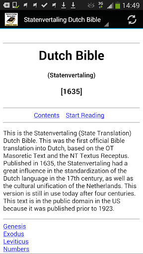 Dutch Bible Translation