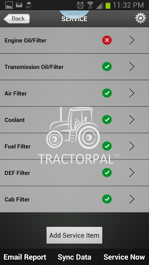 TractorPal v:1.0- screenshot