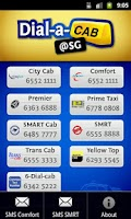 Screenshot of Dial a Cab@SG