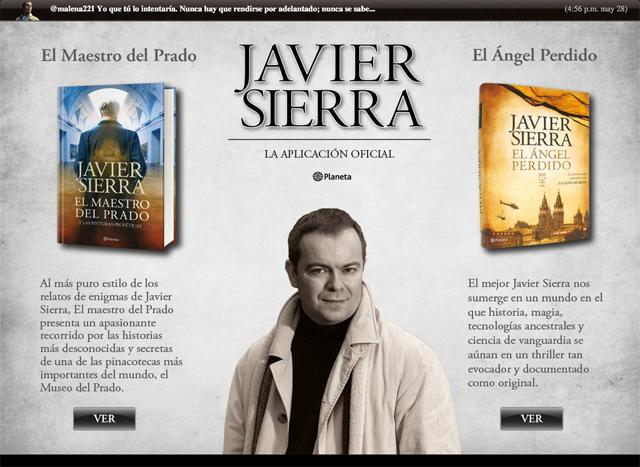 Javier Sierra HD- screenshot