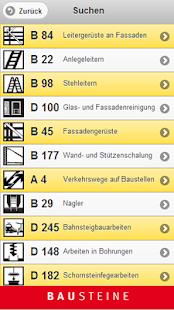 Bausteine der BG BAU - screenshot thumbnail