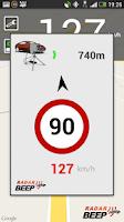 Screenshot of Radar Beep - Radar Detector