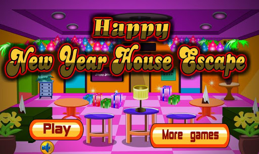 Happy New Year House Escape