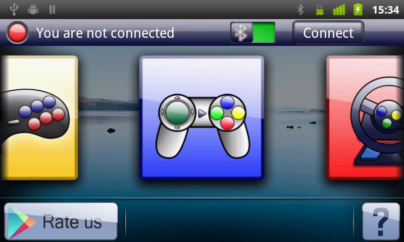 4joy - Remote Game Controller - screenshot