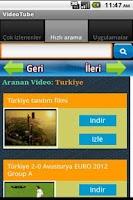 Screenshot of VideoTube